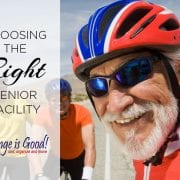 Choosing the right senior living facility