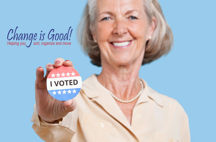Remember to vote - even if you can't make it out on Nov 8th - you can always absentee vote.