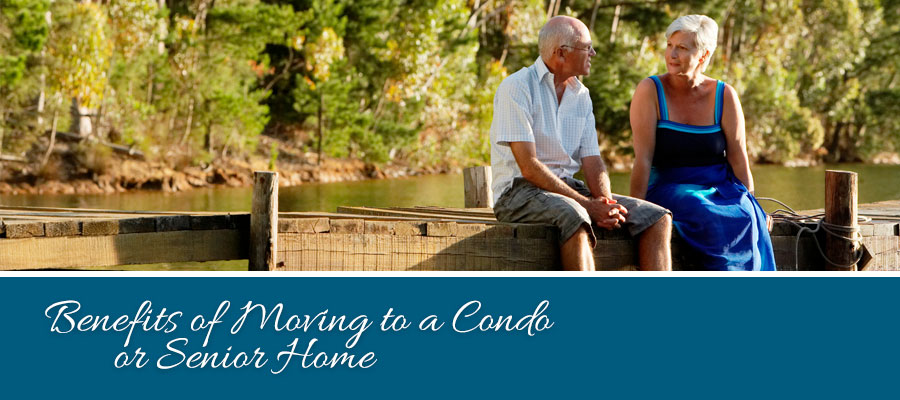 What are the benefits to moving to a senior living facility?
